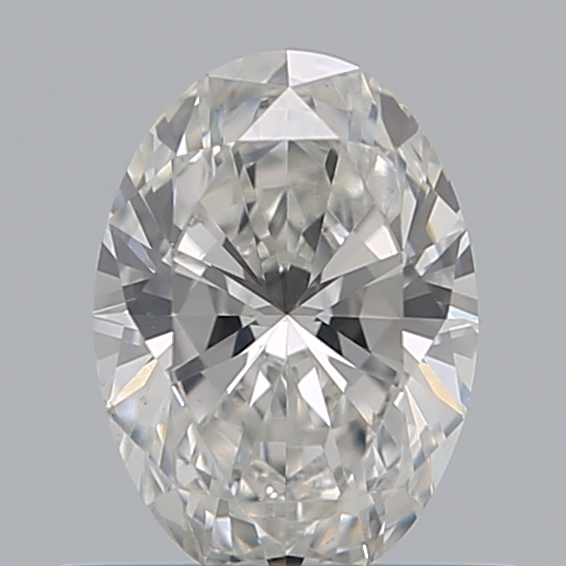 0.50 Carat Oval Loose Diamond, G, VS2, Super Ideal, GIA Certified