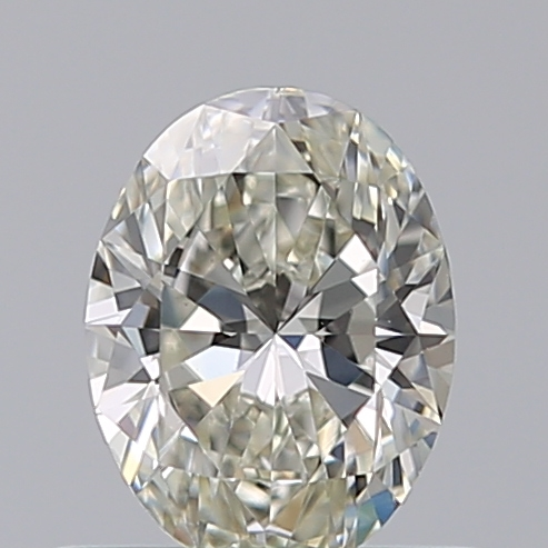 0.51 Carat Oval Loose Diamond, J, VS1, Super Ideal, GIA Certified