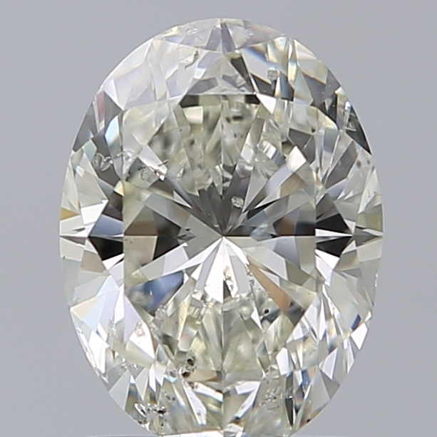 1.50 Carat Oval Loose Diamond, K, SI2, Super Ideal, GIA Certified