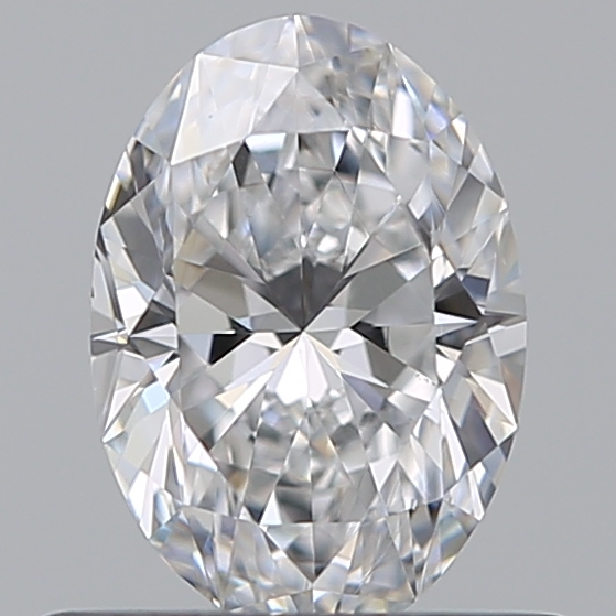 0.52 Carat Oval Loose Diamond, D, VS1, Ideal, GIA Certified | Thumbnail
