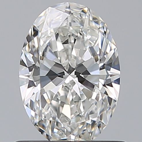 0.70 Carat Oval Loose Diamond, G, SI2, Super Ideal, GIA Certified