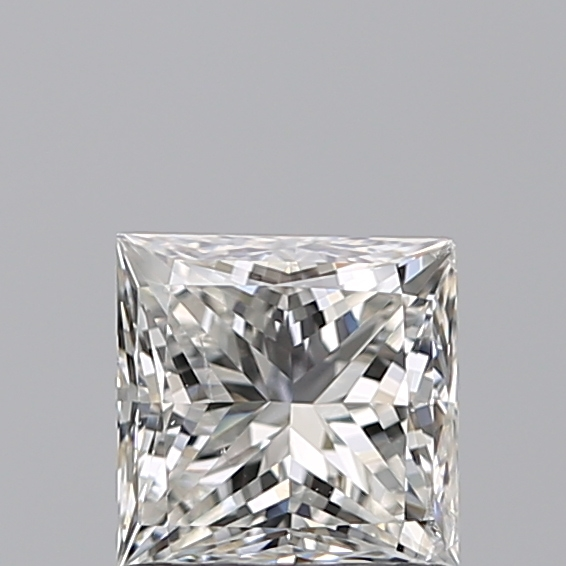 1.00 Carat Princess Loose Diamond, H, SI2, Ideal, GIA Certified