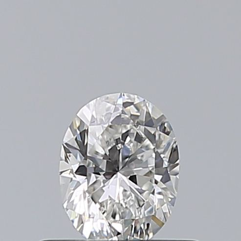 0.40 Carat Oval Loose Diamond, F, VVS1, Excellent, GIA Certified