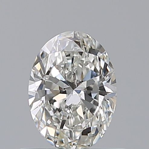 0.46 Carat Oval Loose Diamond, G, VS1, Ideal, GIA Certified