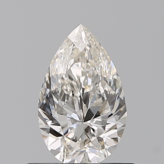 0.50 Carat Pear Loose Diamond, I, VS1, Ideal, GIA Certified