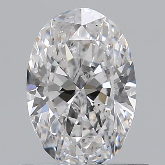 0.50 Carat Oval Loose Diamond, D, VS2, Ideal, GIA Certified