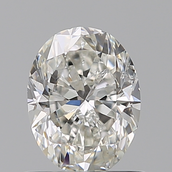 0.70 Carat Oval Loose Diamond, G, SI1, Excellent, GIA Certified