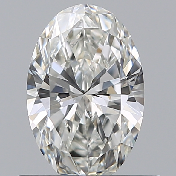 0.51 Carat Oval Loose Diamond, G, VVS2, Super Ideal, GIA Certified