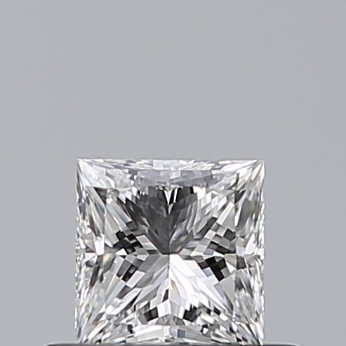 0.41 Carat Princess Loose Diamond, E, VS2, Super Ideal, GIA Certified