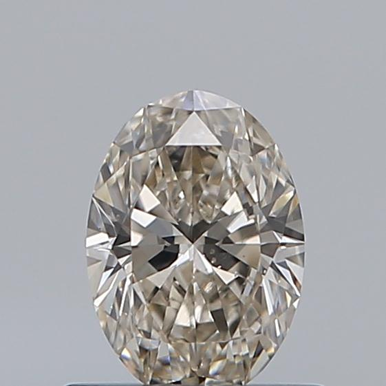 0.52 Carat Oval Loose Diamond, L, VS2, Super Ideal, GIA Certified