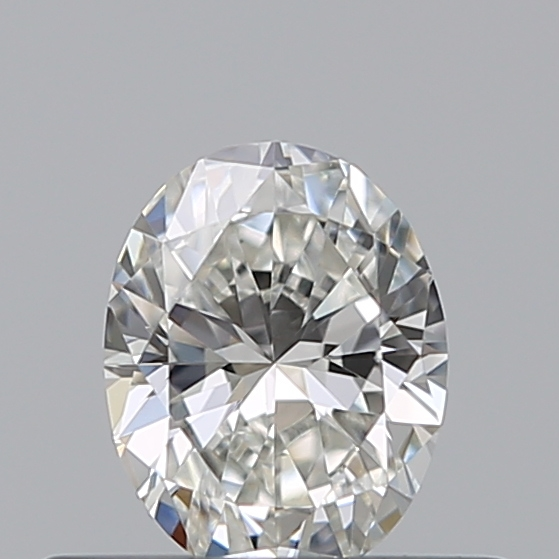 0.30 Carat Oval Loose Diamond, H, VVS2, Excellent, GIA Certified