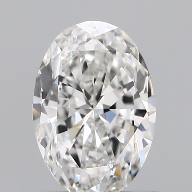 0.50 Carat Oval Loose Diamond, F, VS1, Ideal, GIA Certified