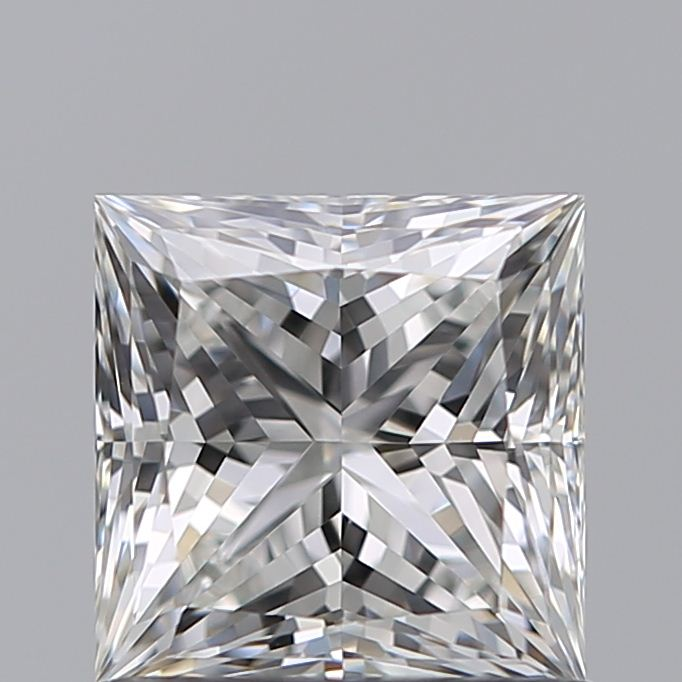 0.90 Carat Princess Loose Diamond, G, VVS2, Super Ideal, GIA Certified