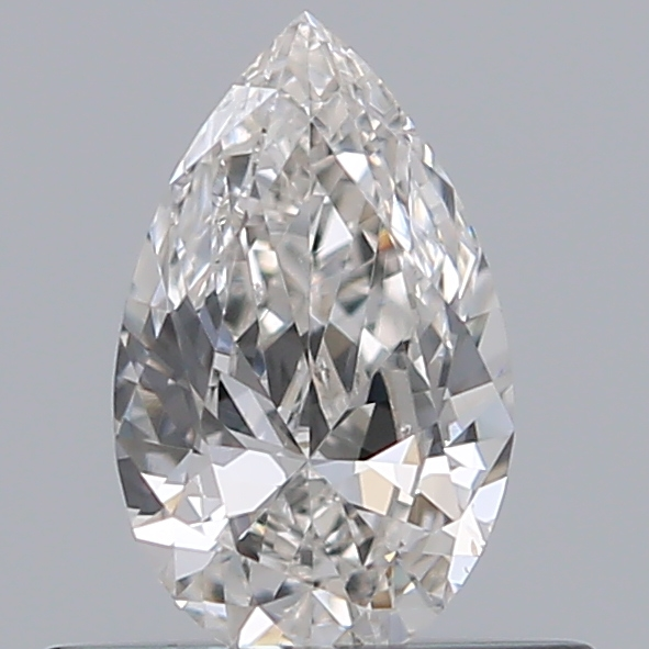 0.35 Carat Pear Loose Diamond, H, VS2, Excellent, GIA Certified