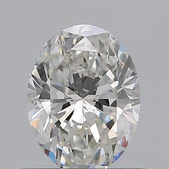 0.51 Carat Oval Loose Diamond, G, SI2, Ideal, GIA Certified