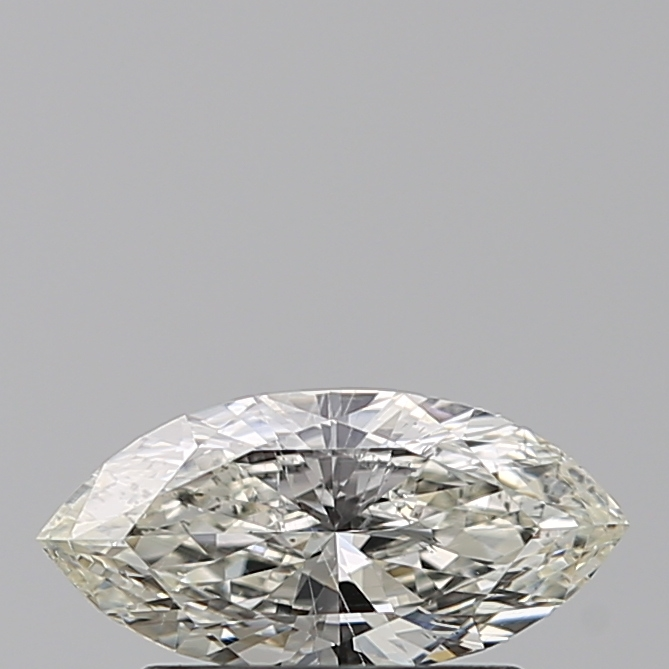 0.50 Carat Marquise Loose Diamond, J, SI1, Excellent, GIA Certified