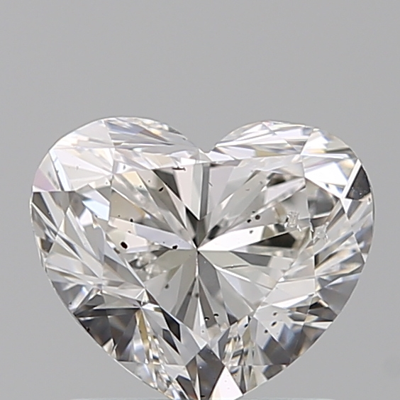 1.00 Carat Heart Loose Diamond, G, SI2, Super Ideal, GIA Certified