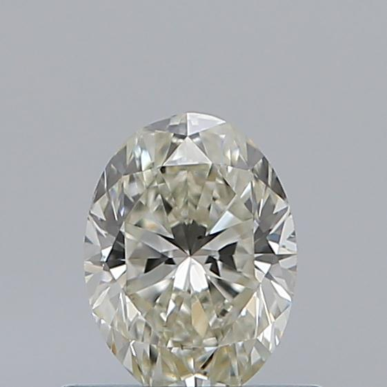 0.50 Carat Oval Loose Diamond, K, SI1, Ideal, GIA Certified
