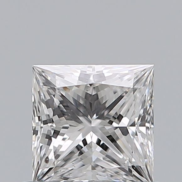 0.52 Carat Princess Loose Diamond, D, SI2, Super Ideal, GIA Certified