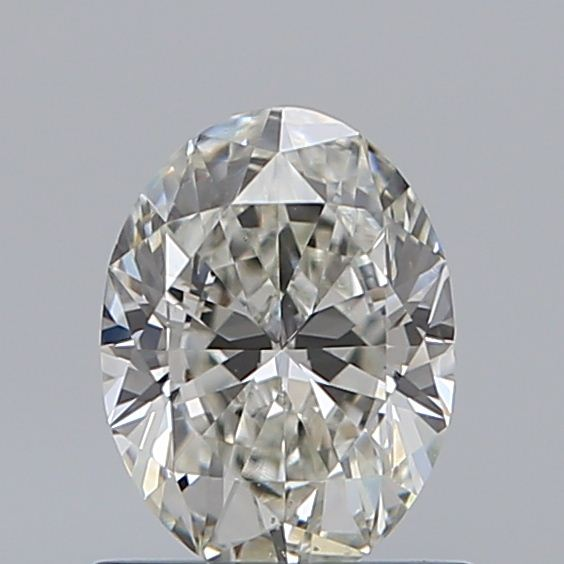 0.72 Carat Oval Loose Diamond, H, VS2, Ideal, GIA Certified