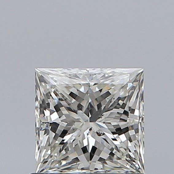 0.80 Carat Princess Loose Diamond, J, SI2, Super Ideal, GIA Certified