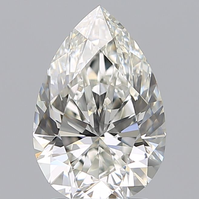 2.04 Carat Pear Loose Diamond, H, VS1, Super Ideal, GIA Certified | Thumbnail