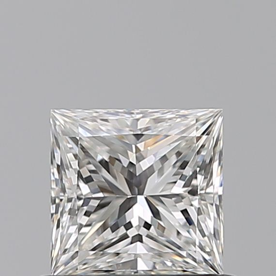 0.59 Carat Princess Loose Diamond, F, VS1, Super Ideal, GIA Certified