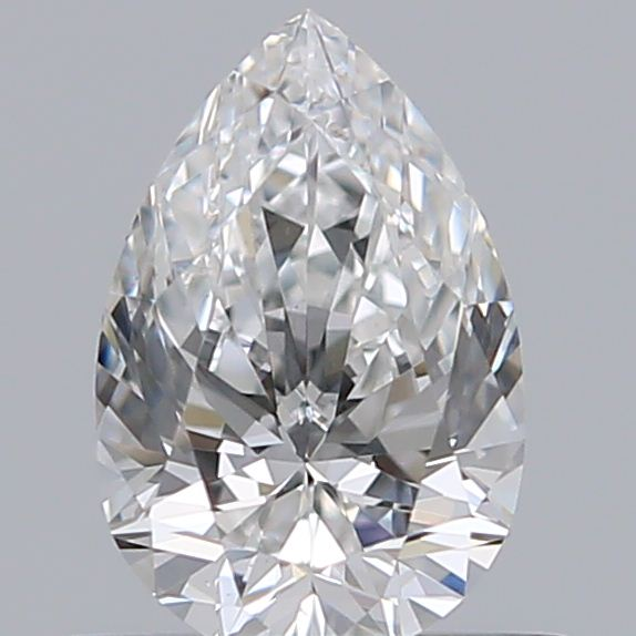 0.47 Carat Pear Loose Diamond, F, VS1, Ideal, GIA Certified