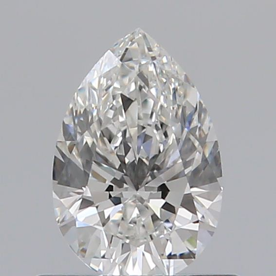 0.50 Carat Pear Loose Diamond, G, IF, Super Ideal, GIA Certified