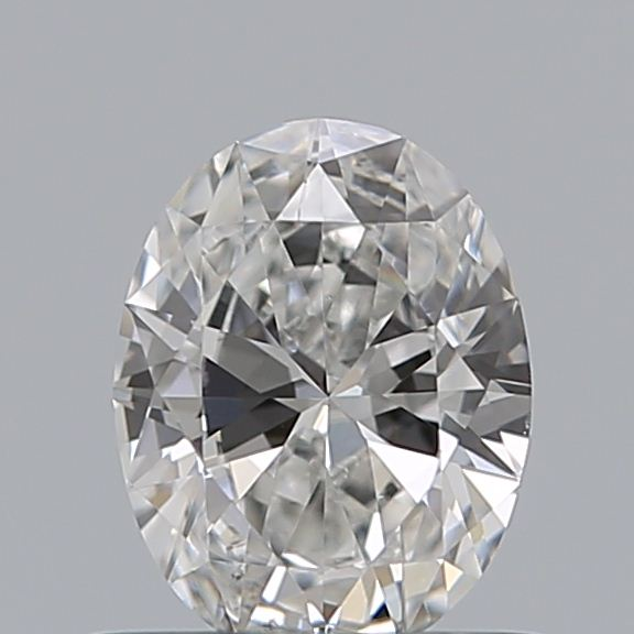 0.46 Carat Oval Loose Diamond, F, SI1, Ideal, GIA Certified | Thumbnail