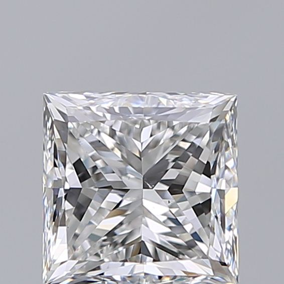 1.21 Carat Princess Loose Diamond, E, VS2, Very Good, GIA Certified