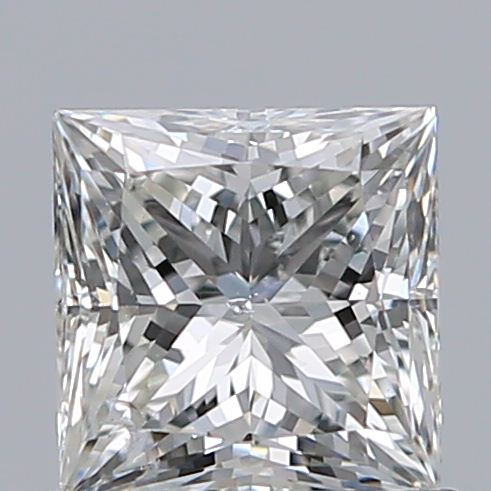 0.73 Carat Princess Loose Diamond, H, SI2, Super Ideal, GIA Certified