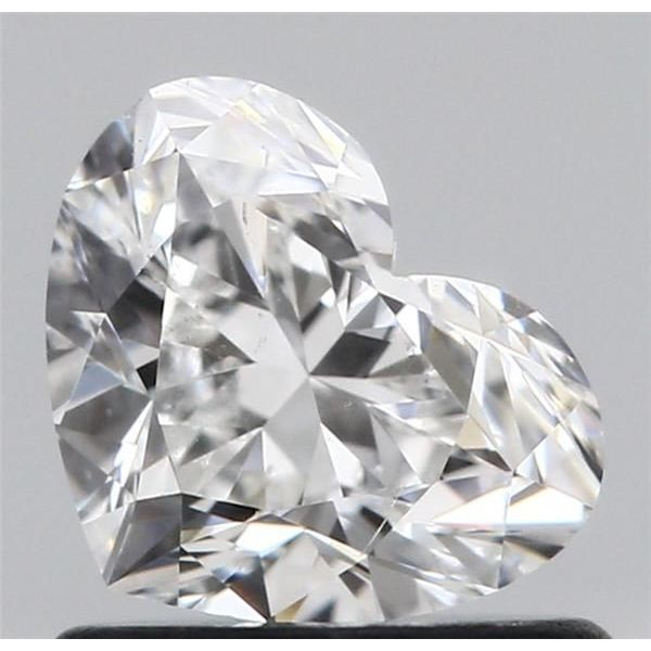 0.80 Carat Heart Loose Diamond, F, SI1, Ideal, GIA Certified