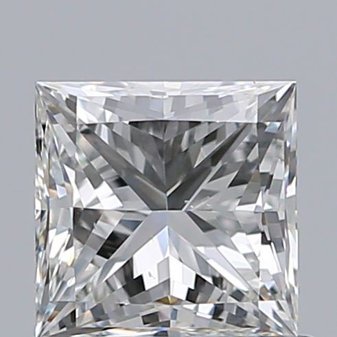 0.70 Carat Princess Loose Diamond, H, VS2, Ideal, GIA Certified