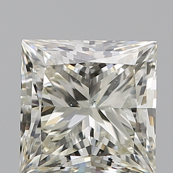 0.80 Carat Princess Loose Diamond, L, SI1, Ideal, GIA Certified