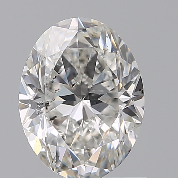 0.90 Carat Oval Loose Diamond, F, SI1, Excellent, GIA Certified