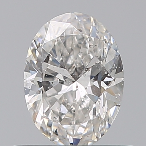 0.50 Carat Oval Loose Diamond, F, SI2, Excellent, GIA Certified