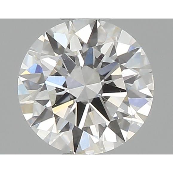 0.32 Carat Round Loose Diamond, D, VS1, Ideal, GIA Certified