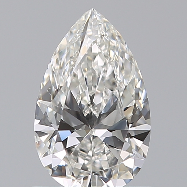 0.71 Carat Pear Loose Diamond, F, VS1, Ideal, GIA Certified