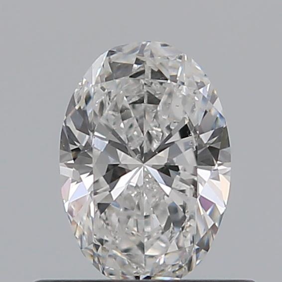 0.40 Carat Oval Loose Diamond, E, SI1, Ideal, GIA Certified