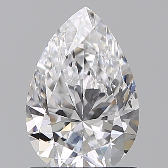 0.90 Carat Pear Loose Diamond, D, SI1, Super Ideal, GIA Certified