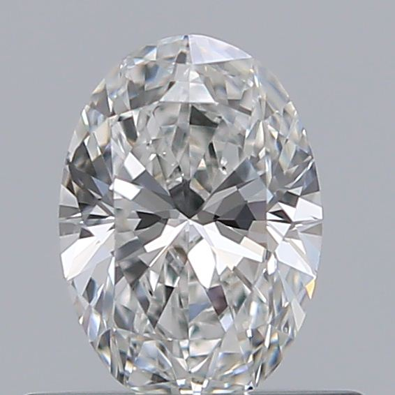 0.40 Carat Oval Loose Diamond, F, VS1, Super Ideal, GIA Certified | Thumbnail