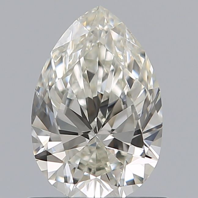 0.69 Carat Pear Loose Diamond, J, IF, Super Ideal, GIA Certified