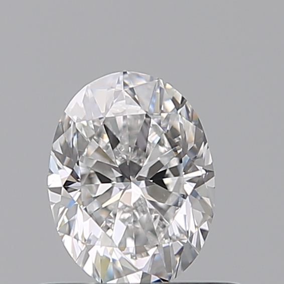 0.50 Carat Oval Loose Diamond, D, IF, Excellent, GIA Certified