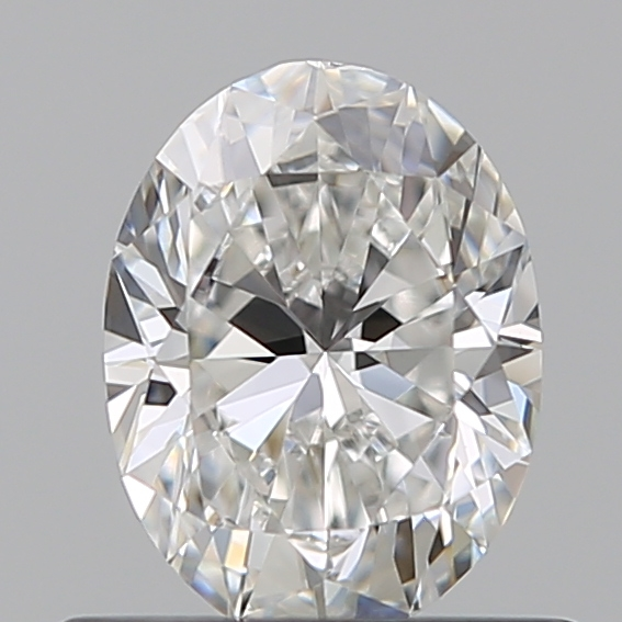 0.50 Carat Oval Loose Diamond, F, VS1, Ideal, GIA Certified | Thumbnail