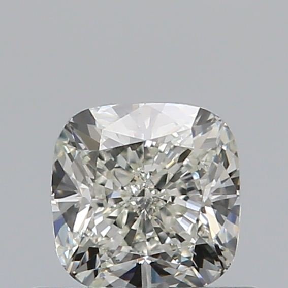 0.50 Carat Cushion Loose Diamond, K, VVS2, Excellent, GIA Certified