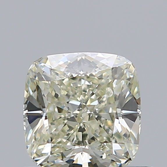 0.54 Carat Cushion Loose Diamond, N, VS1, Super Ideal, GIA Certified
