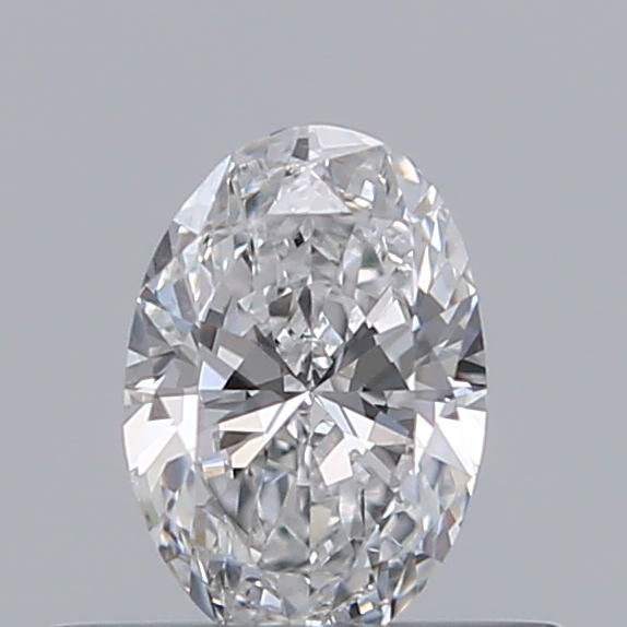 0.31 Carat Oval Loose Diamond, D, SI1, Ideal, GIA Certified | Thumbnail