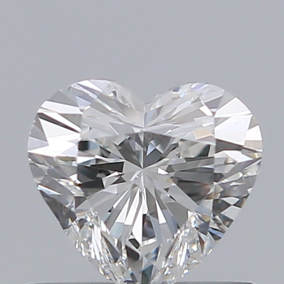 0.50 Carat Heart Loose Diamond, G, VS1, Ideal, GIA Certified
