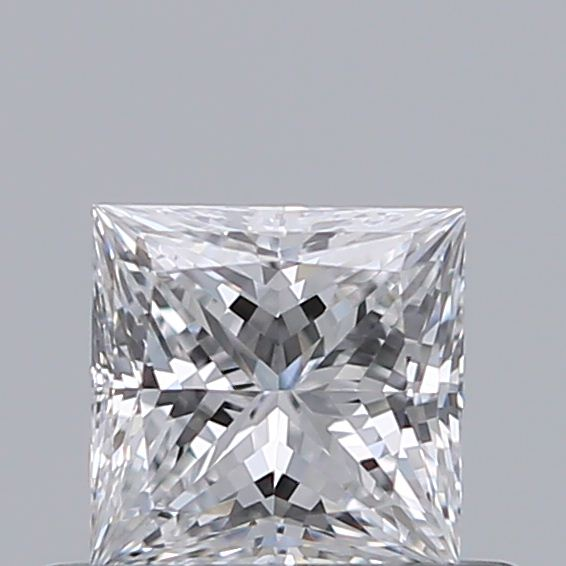 0.41 Carat Princess Loose Diamond, D, VS1, Super Ideal, GIA Certified
